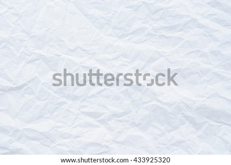 white paper texture background, white crumpled paper texture background,  - stock photo