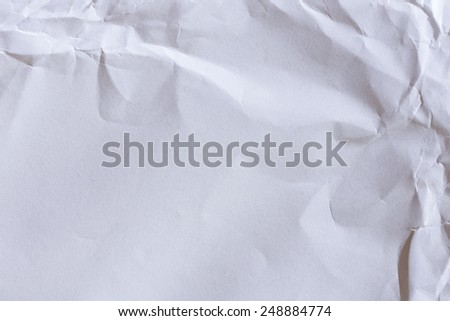 White Paper Texture or Background/White paper - stock photo
