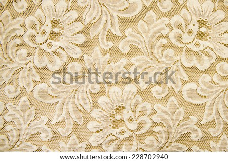 White paper with lace - stock photo