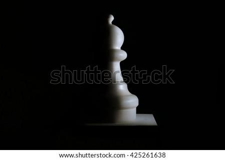 White Pawn  - stock photo