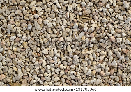 White Pebbles For Texture Or Wallpaper Background