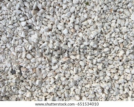 White Pebbles Stone Background Gravel Wallpaper Landscape