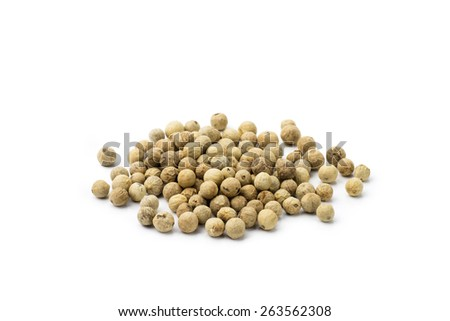 White Pepper - stock photo