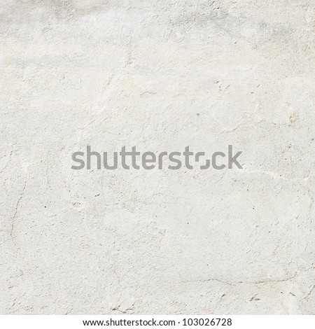 white plastered wall background or texture - stock photo