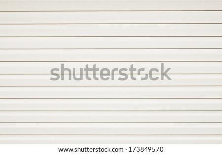 White plastic panels texture  - stock photo