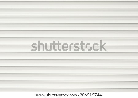 White plastic panels texture  - stock photo