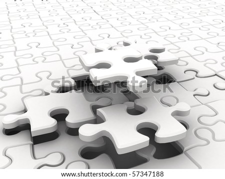 White puzzles