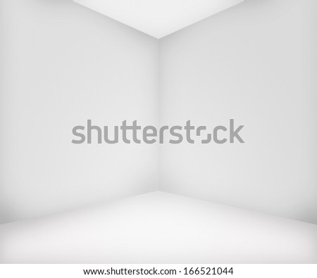 White Room Background - stock photo