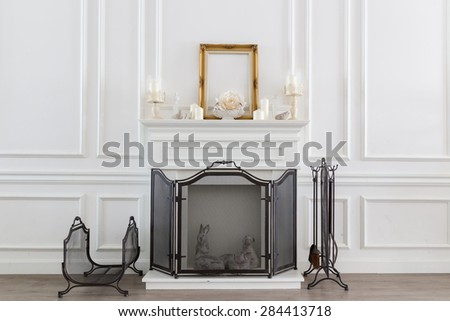 White Room Vintage - stock photo