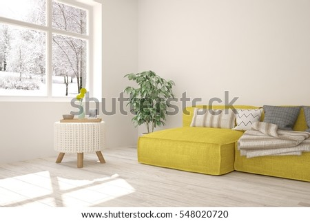 Creative living room chalkboard wall wooden stock photo for Winter creative interior design