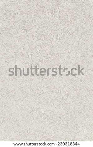 white rough plaster with decorativ structure at a wall - stock photo