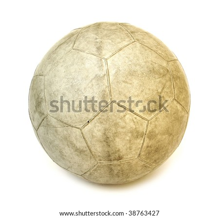 white rubber ball for playing sports