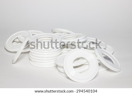 White rubber seal for Industrial.