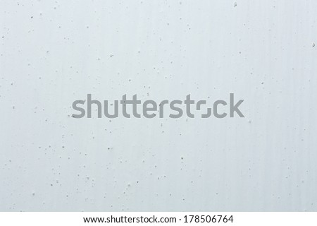 White rugged wall texture. Whitewash - stock photo