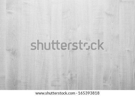 White rustic wood background. Bright, natural material - stock photo