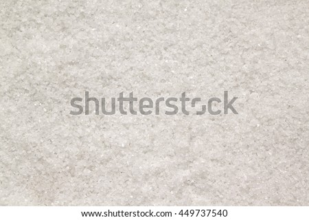 White salt background