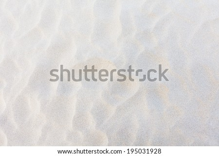 white sand background - stock photo