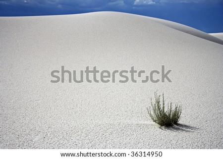 White Sands Dune - stock photo