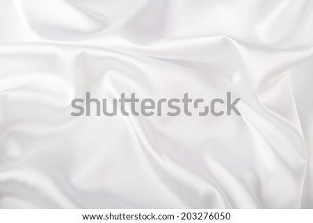 White satin - stock photo