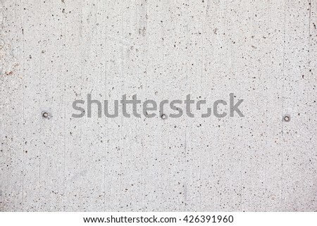 White scratched concrete wall texture background - stock photo