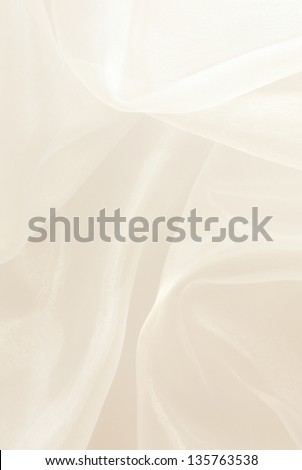 white silk background - stock photo