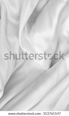 white silk fabric texture grey background