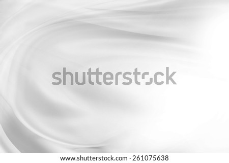 White silky lines, advertising copy space - stock photo