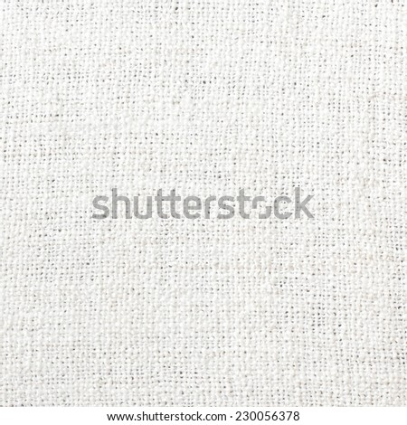 White Soft Fabric Texture - stock photo