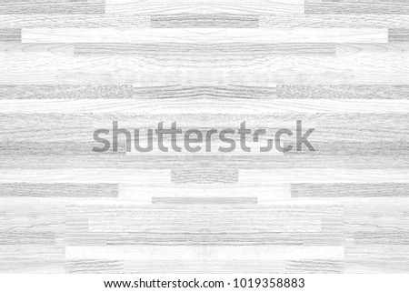 White soft wood texture background, top view