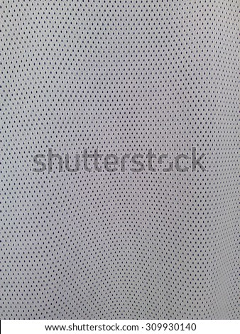 White sports jersey photo  - stock photo