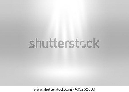 White Spotlight Background Texture - stock photo