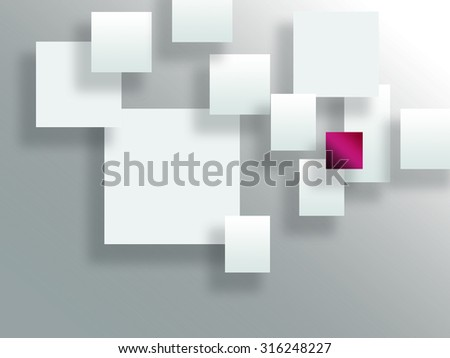 white Squares blank background