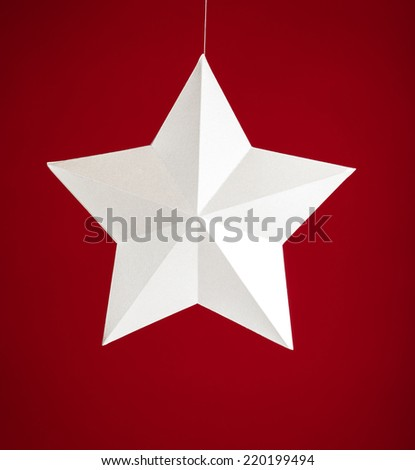 White Star - stock photo