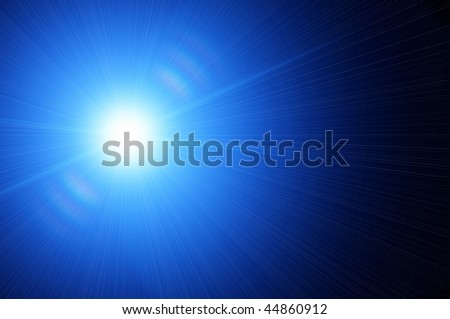 white star on a blue backgrounds