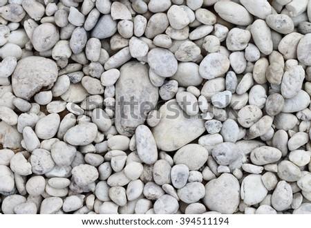 White stone background (texture)  - stock photo