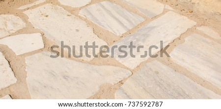 white stone masonry as a background