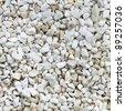 White stones texture - stock photo