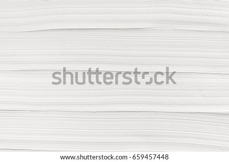 White striped plaster texture. Light modern abstract background.