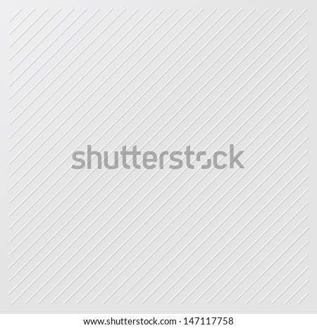 White stripes embossed background texture - stock photo