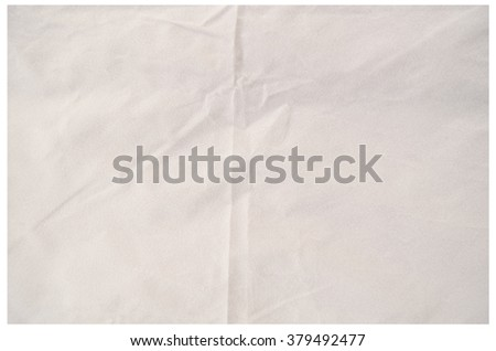 White texture of frieze clothes
