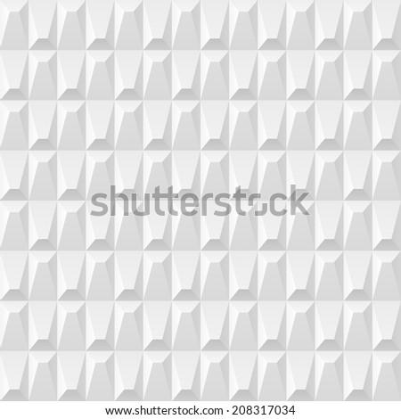 White texture, seamless pattern - stock photo