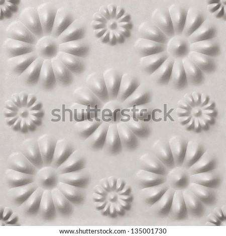 White textured background,  seamless, 3d - stock photo