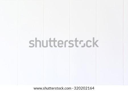 white tile - stock photo