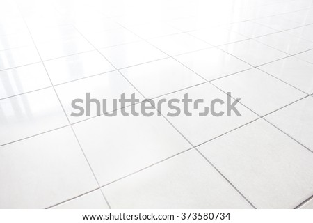 white tile texture in the room.