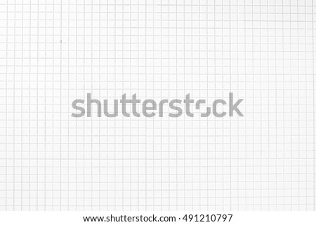 White Tiles wall background and texture