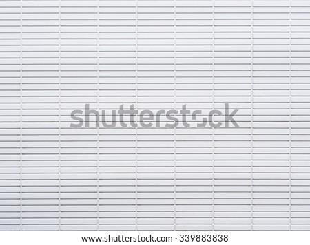White Tiles wall Pattern - stock photo