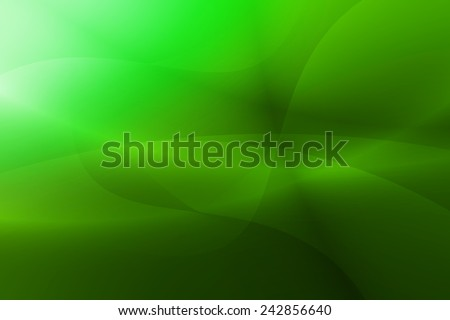 white to green gradient with swirl and curve abstract background - stock photo