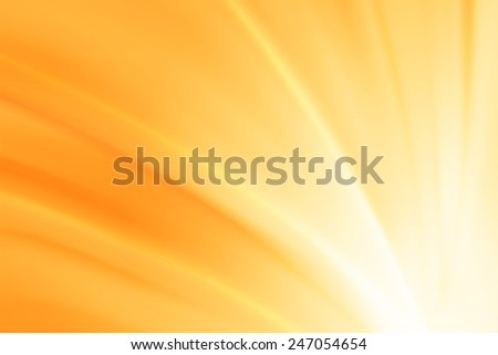 white to yellow gradient color ray abstract background - stock photo