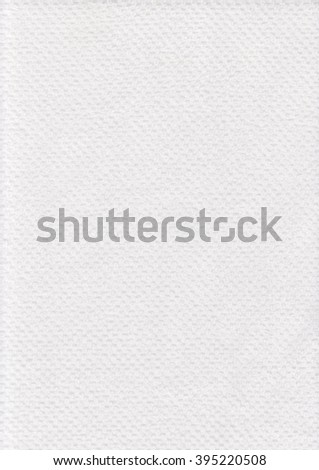White towel texture background with ornament. Soft cotton. Macro textile. Bathroom close up clean. - stock photo