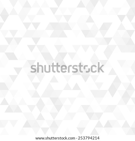 white triangle background - stock photo